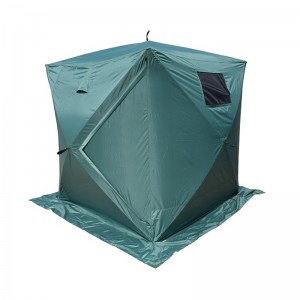 Cube Ice  Fishing Tent