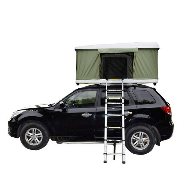 4WD Fiberglass Hard Shell Car Roof Top Tent For Camping And Traveling Featured Image
