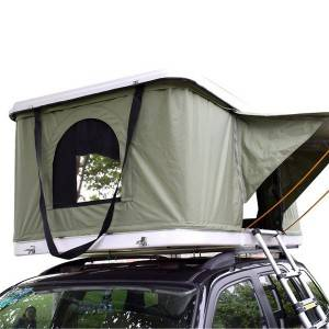 4WD Fiberglass Hard Shell Car Roof Top Tent For Camping And Traveling
