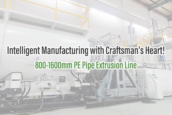1600mm PE Pipe Extrusion Line
