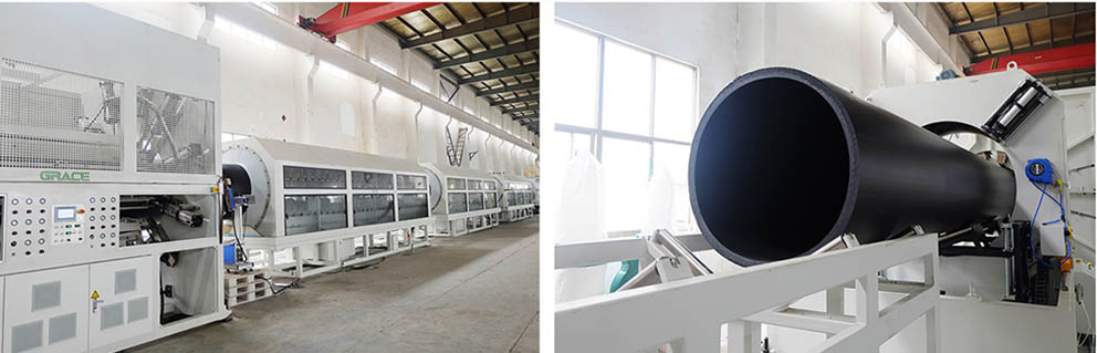 1600mm PE Pipe Extrusion Line4