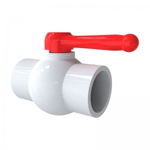 PVC Compact Ball Valve- Socket/ Thread
