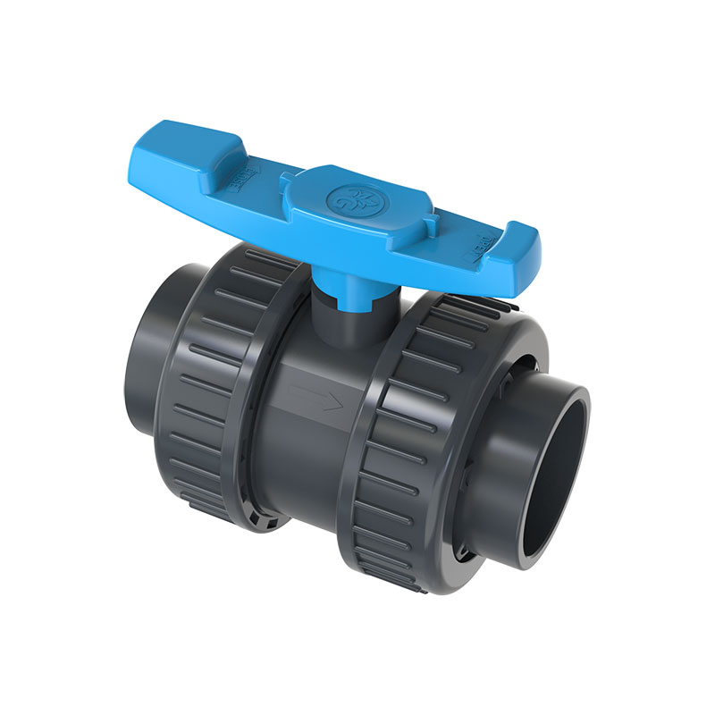 PVC Double union ball valve Featured Image