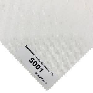 Double Polyester Roller Blinds Components Shade 75cm Width Sunscreen Fabric for Hotel