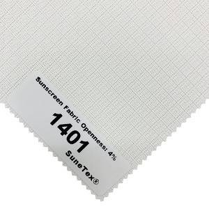 Australia Polyester And Vinyl PVC Polyester Sunscreen Fabric For Roller Blind
