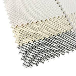 Flame Retardant Protective Sun Solar Cell Blinds Screen Blinds Fabric