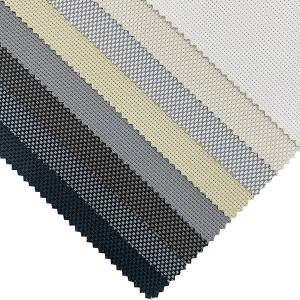 Window Roller Outdoor Sunshades Vinyl Sunscreen Blinds Fabric