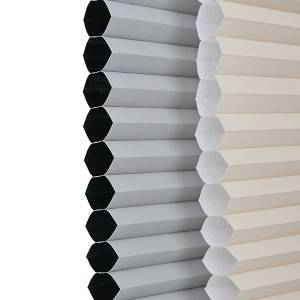 Cordless Top Down Bottom Up Honeycomb Blind Fabric Blackout