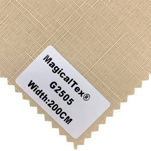 Curtain Fabric Semi Blackout Fabric White Coating