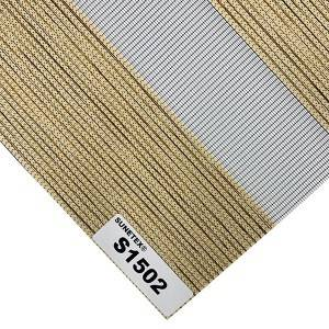 European style Rainbow Blinds Fabric 100% Polyester