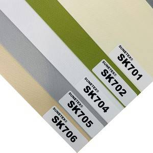 Factory Hot Sell Dual Sheer Roller Blinds Fabric For Office