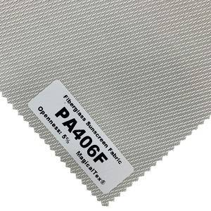 Flame Retardant Fiberglass Sunscreen Fabric For Office