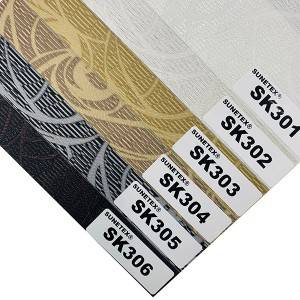 High Utilization Rate Zebra Shade Fabric 100% Polyester