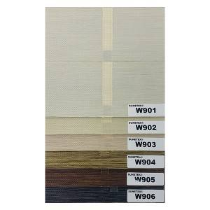 New Design Wholesale Ladder Tape Shangri-La Blinds Fabric Blackout