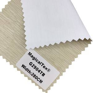 Sunshade Blinds Linen Fabrics Blackout Polyester