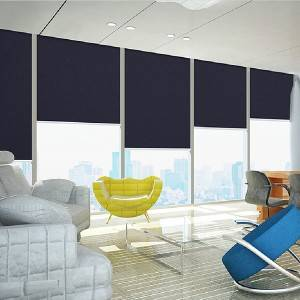 Waterproof Fiberglass Roller Blinds Blackout Fabric 3m Width