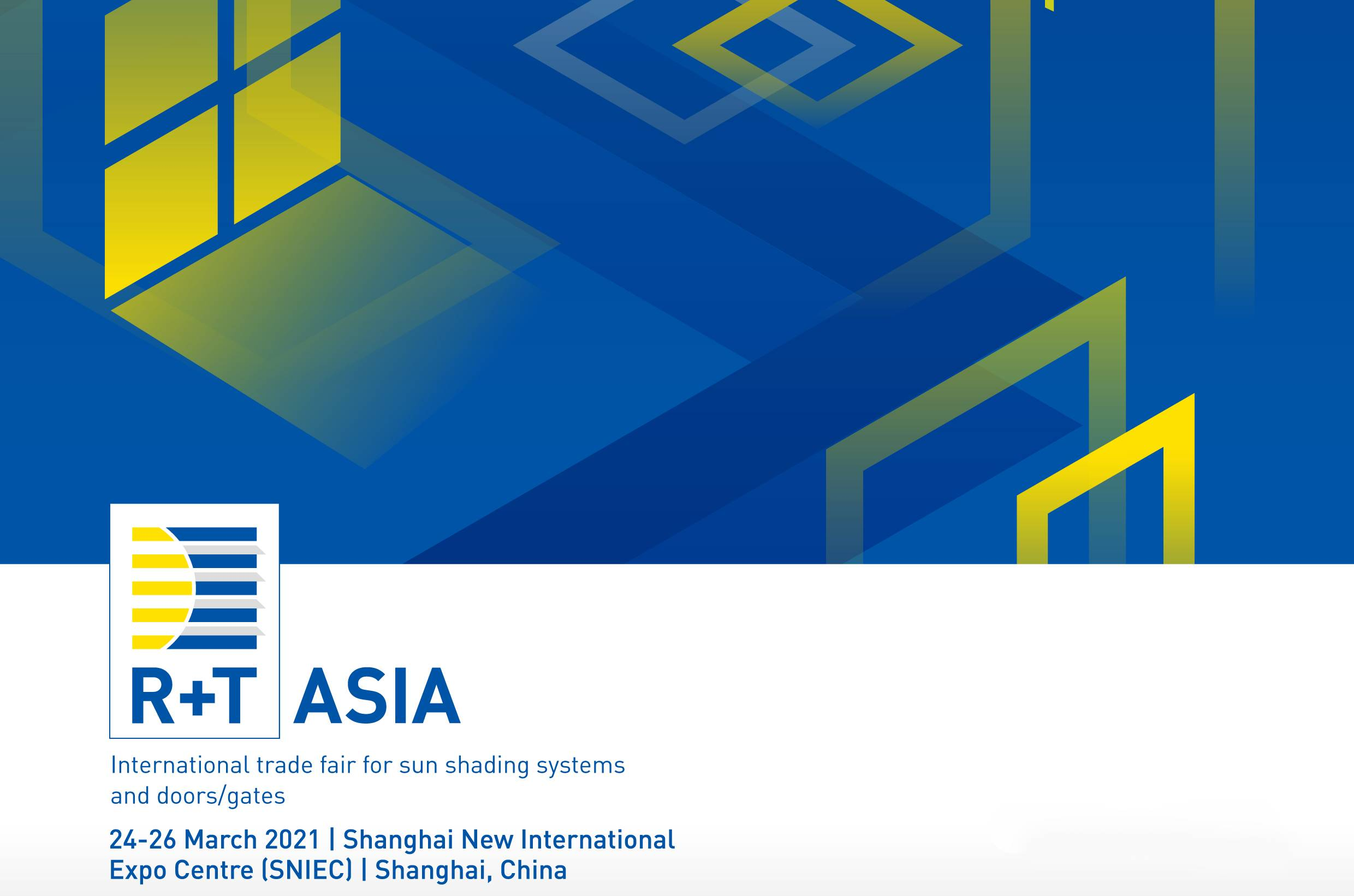 Welcome to R+T Asia 2021