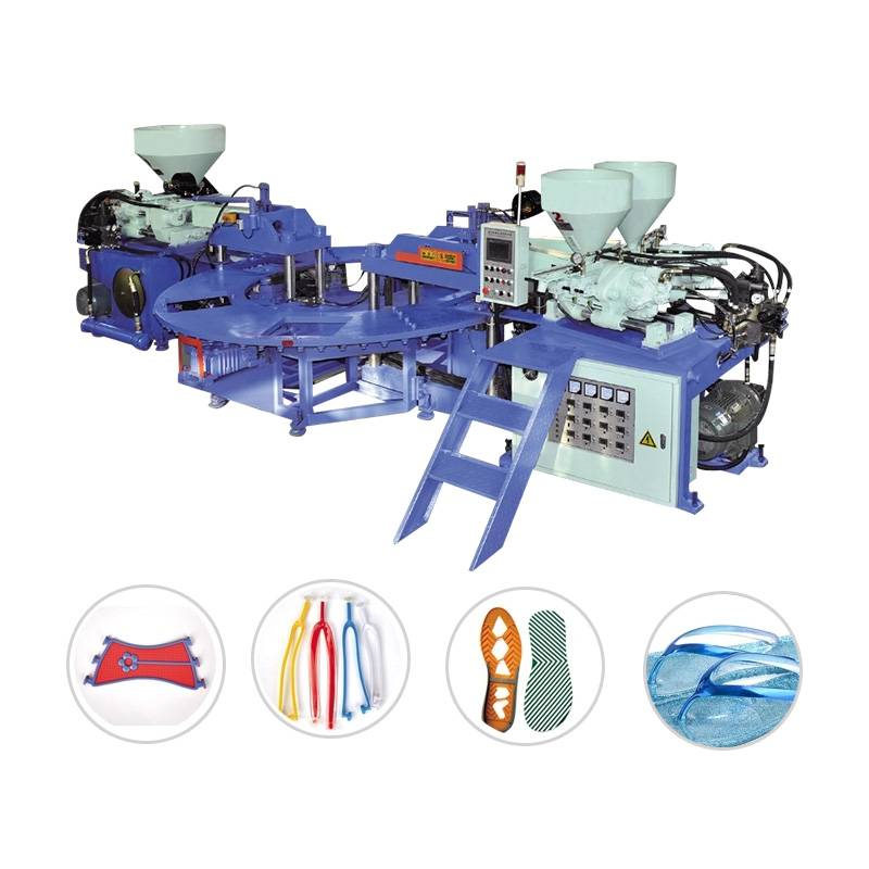 Three Color PVC TPR Upper Molding Machine GTM-102