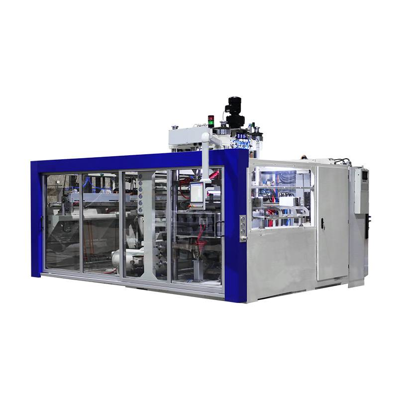 Single Station Automatic Thermoforming machine
