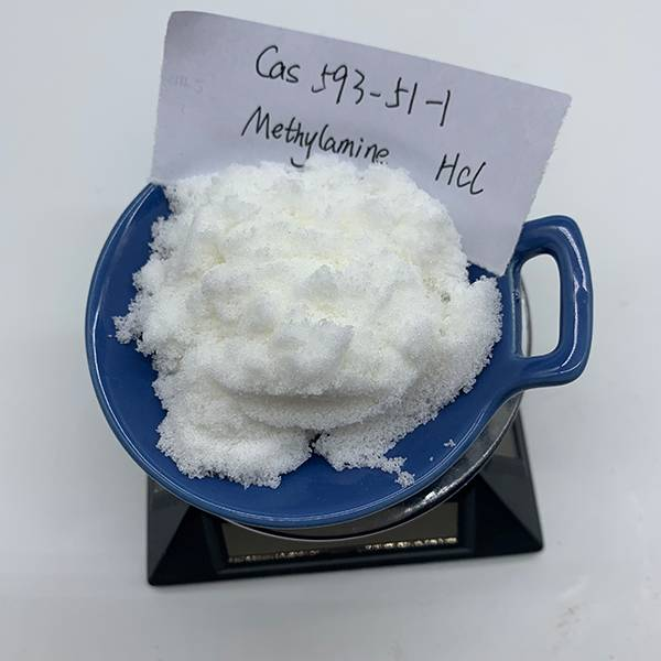 China factory supply the highest purity Methylamine hydrochloride/Methylamine HCL CAS 593-51-1 Featured Image