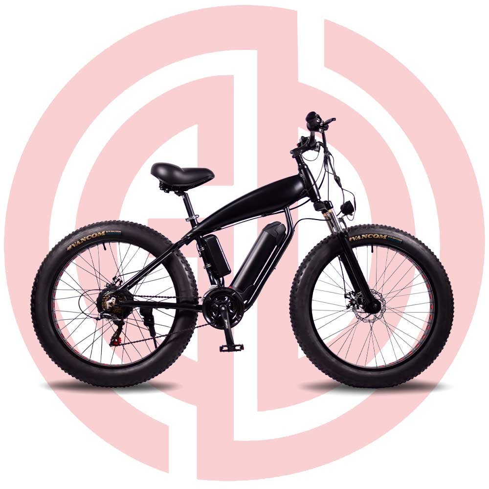 GD-EMB-017: Electric mountain bicycle, 36v 500w, rear mounted motor, built-in motor,built-in battery,aluminum alloy frame Featured Image