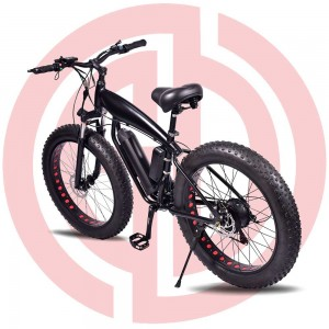 GD-EMB-017: Electric mountain bicycle, 36v 500w, rear mounted motor, built-in motor,built-in battery,aluminum alloy frame