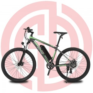 GD-EMB-015:Electric mountain bike, 36V250W, 27.5 inch, ShimanoTY300, mechanical disc brake