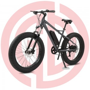 GD-EMB-013: electric mountain bicycle,  26 inch, lithium battery for adult assisted E-bike, black ebike