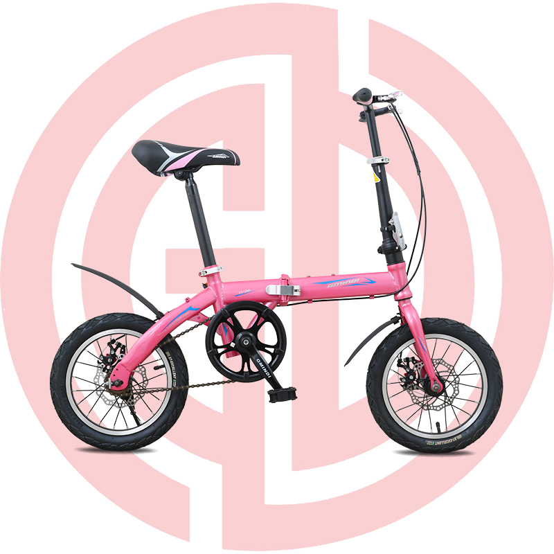 GD-CFB-002(PINK): ALLOY FRAME 20″, SHIMANO,KENDA,CHINA MECHANICAL DISC BRAKE,STEEL STEM