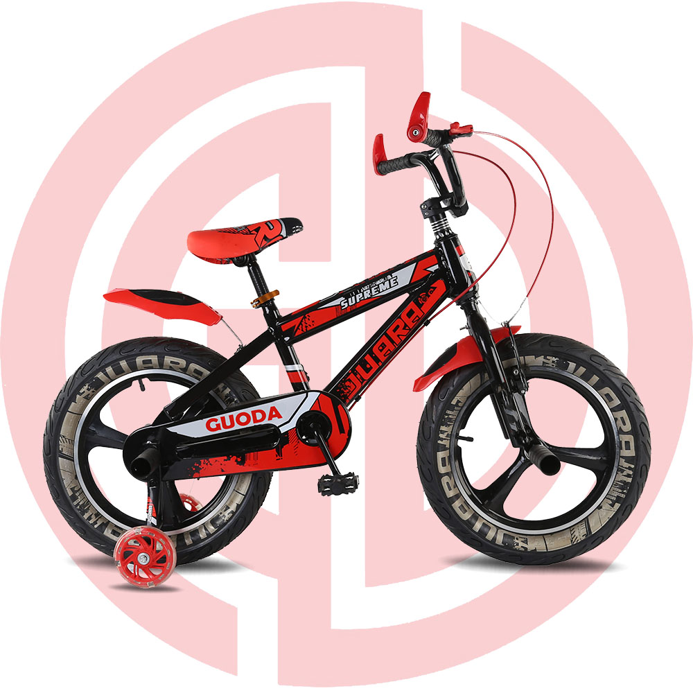 GD-KB-001: 20 inch children kids bicycle, stabilisers puncture proof bike, kids bike,steel frame, boys bike, training wheels Featured Image