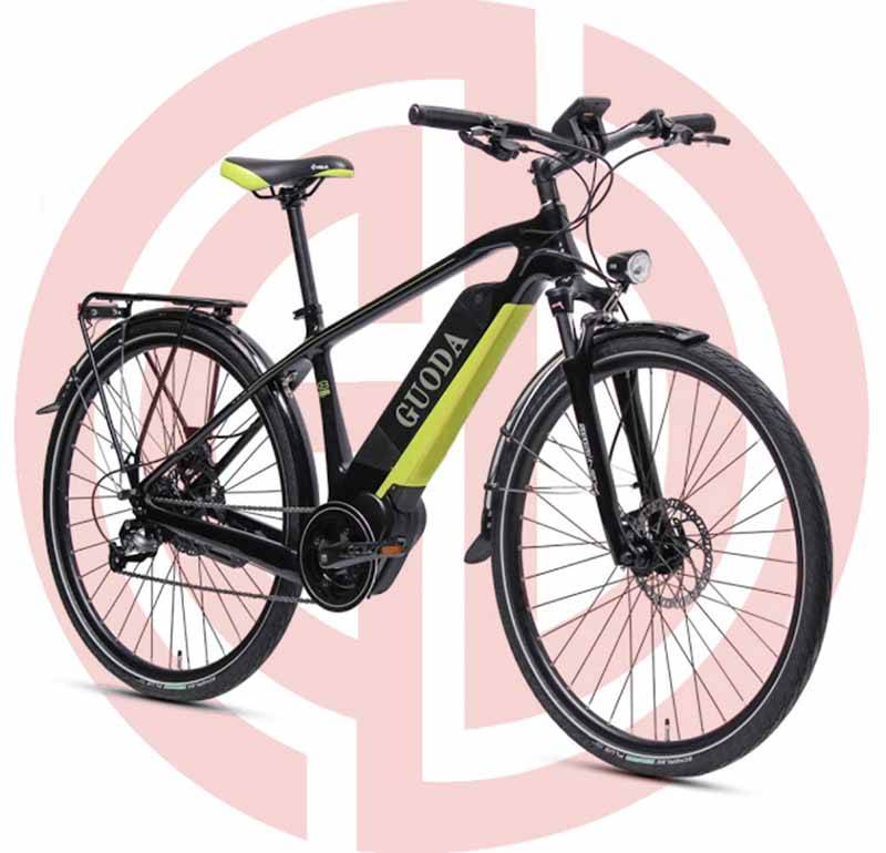 GD-EMB-012: Electric mountain bike, 36v, lithium battery, LED meter, power assisted, 200 – 250w Featured Image