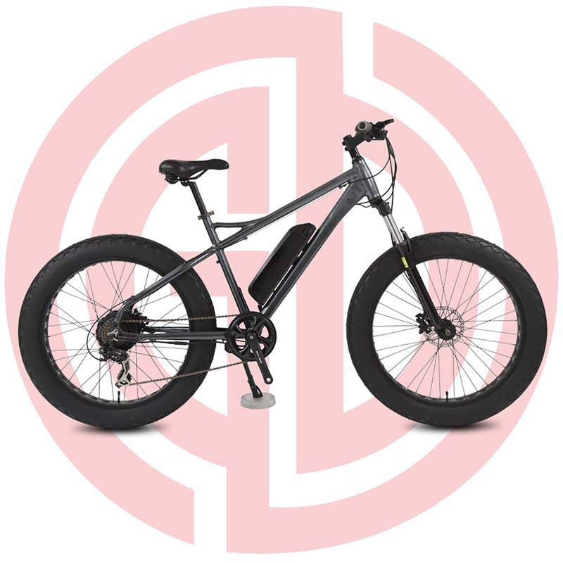 GD-EMB-013: electric mountain bicycle,  26 inch, lithium battery for adult assisted E-bike, black ebike Featured Image