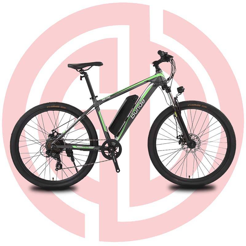 GD-EMB-015:Electric mountain bike, 36V250W, 27.5 inch, ShimanoTY300, mechanical disc brake Featured Image