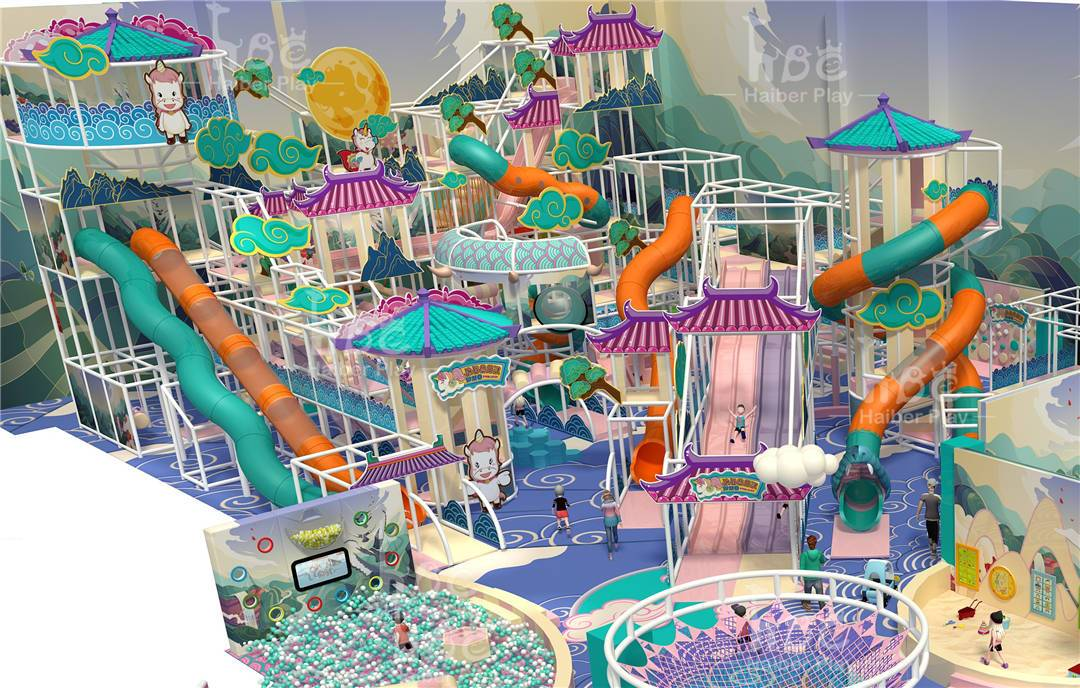 Popular indoor playground opened which virus on internet! Experience the cloud-shrouded fairyland you've never experienced before!