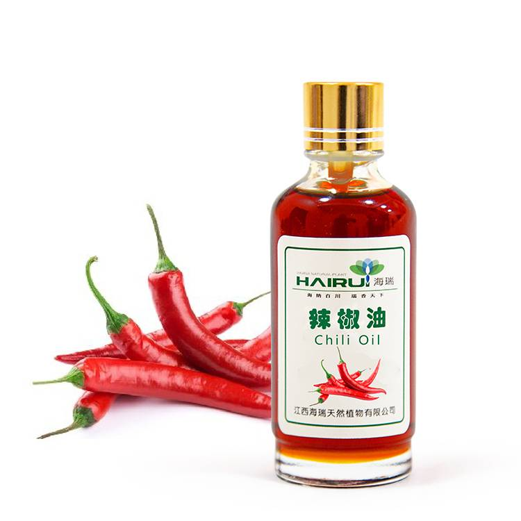 high quality natural chili extract oil for anti-aging