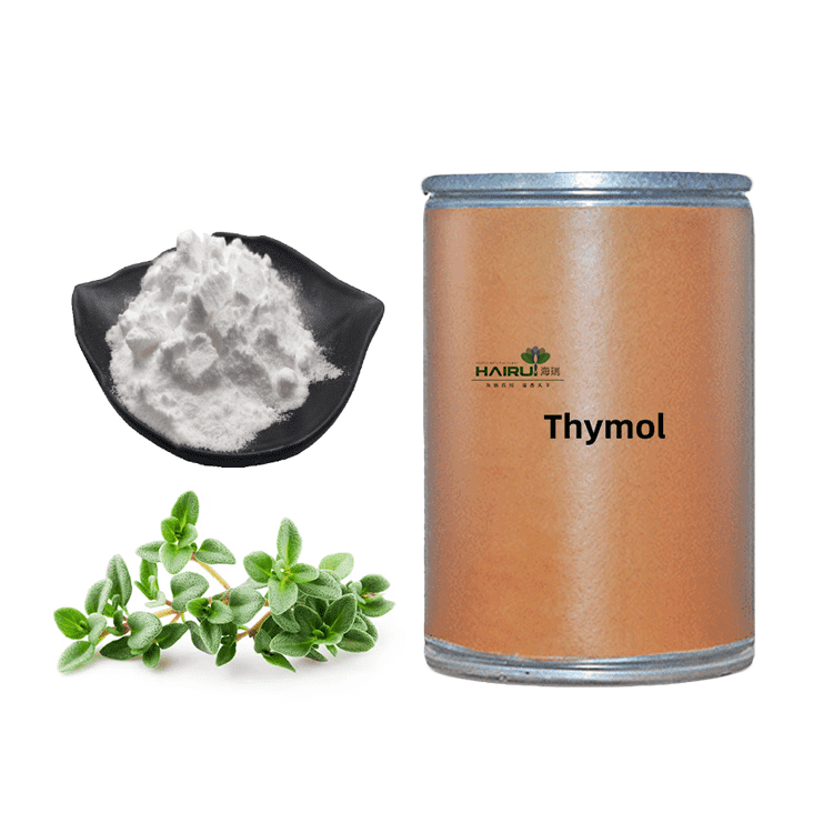 Natural thyme extract thymol powder at competitive price