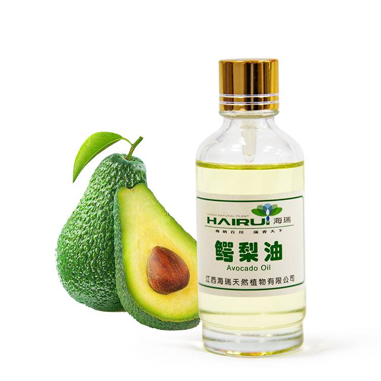 massage bottle Avocado oil for beauty skin care
