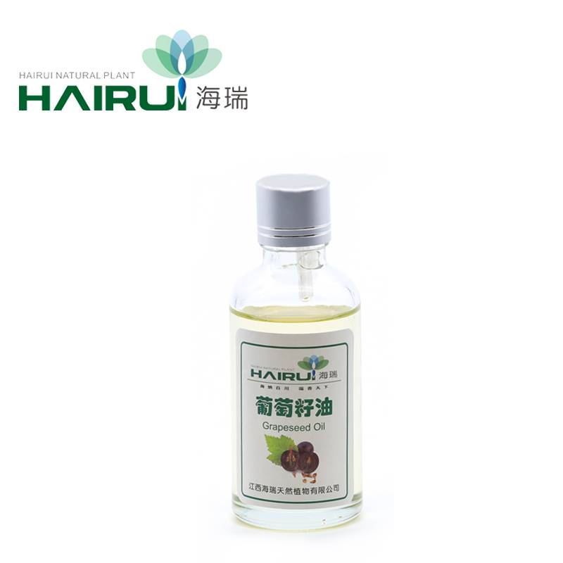 Small Glass bottle Packing liver tumors refined grapeseed oil Carrier oil