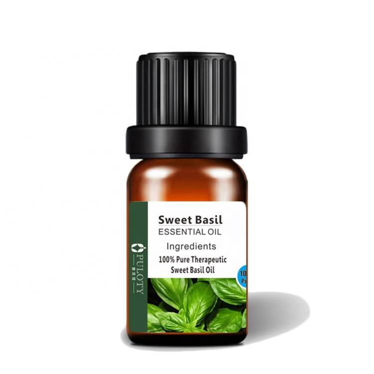 Pure Basil Leaf Extract Basil Oil