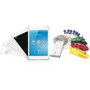 iPhone / iPad ECG Machine  With 12 Lead Resting ECG Device For Home / Hospital / Clinical