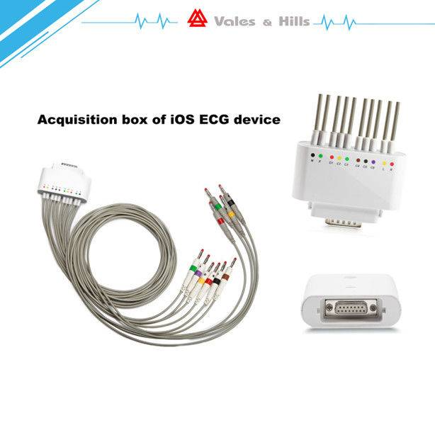 Wireless iPAD Ecg Machine / Meets the Professional Demands in Cardiac World