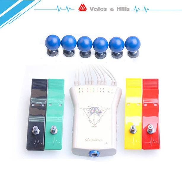 CE Resting Portable Medical Ambulatory ECG Monitoring Equipment 12 Channel