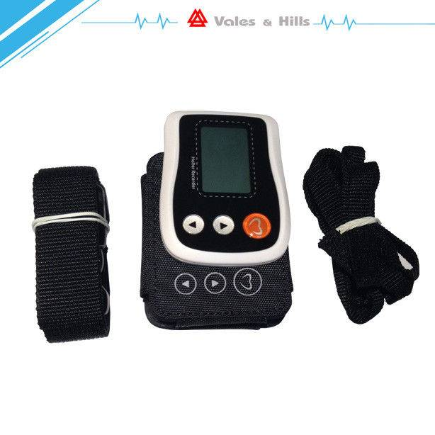 One AAA Battery Advanced Holter Monitor With ECG Analysis Software LCD Display