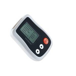 Professional Mini 24 hour ECG Holter Recorder with LCD Display