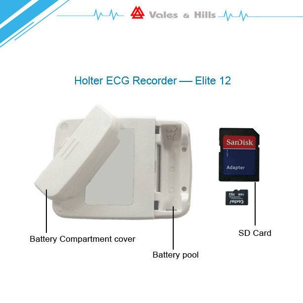 0.05hz To 60hz Ambulatory Ecg Monitoring White Color For Heart Rate Variability