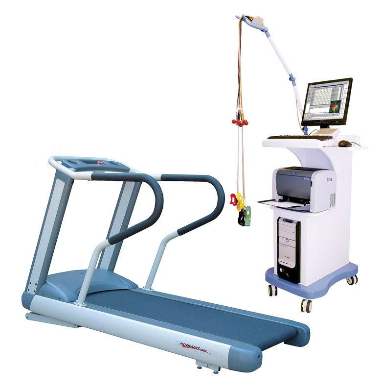 Digital Stress Treadmill ECG Machine 3 Channel Exercise ST Segment ECG