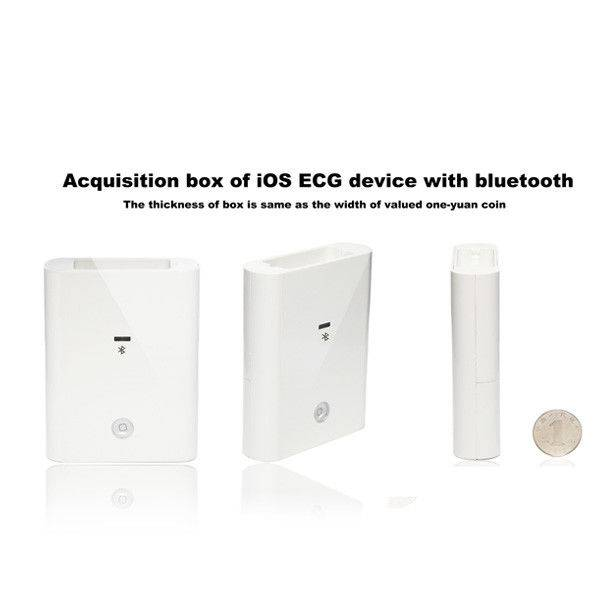Medical Handheld Plastic Bluetooth ECG Machine
