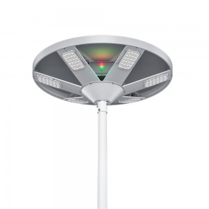 60W hight led efficiency UFO solar garden light