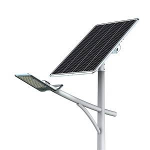SPLIT SOLAR STREET LIGHT SPECIAL DESIGN FOR HIGH LATITUDE AREAS