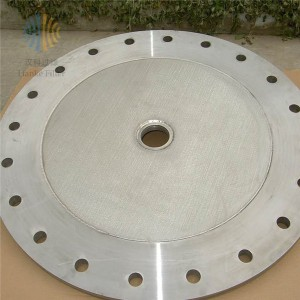 Disc filter leaf disk filter with star weld